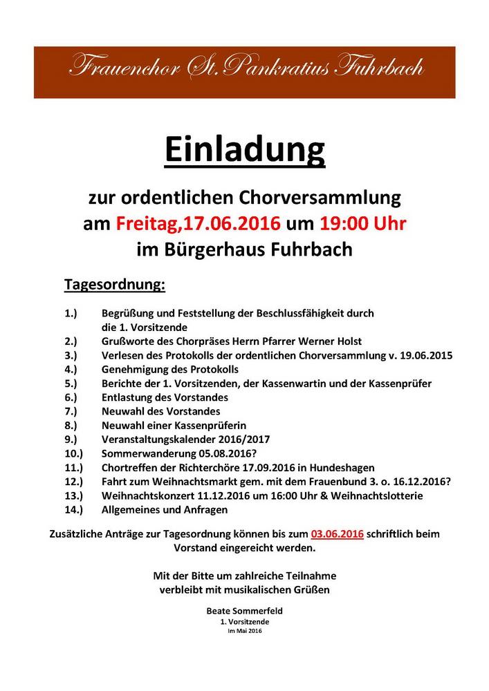 2016-06-17 Einladung Chorversammlung