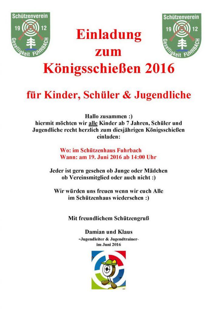 2016-06-19 Einladung Koenigsschiessen