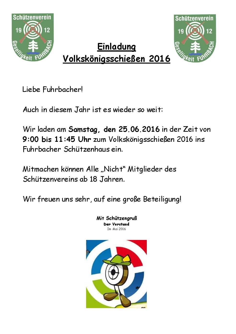 2016-06-25 Einladung Volkskoenigsschiessen