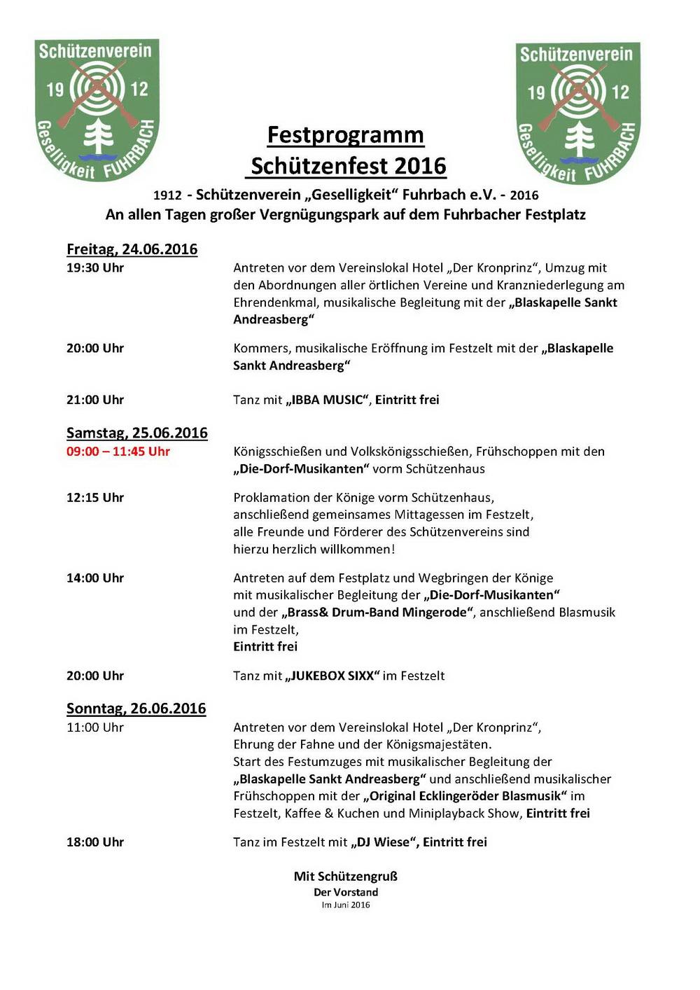 Schuetzenfest 2016 Festprogramm_2
