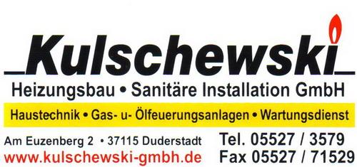 Kulschewski Heizungsbau<br> und Sanitäre Installation GmbH